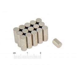 Magnes neodymowy walcowy 5 x 7