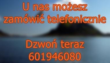Zamów telefonicznie 601946080
